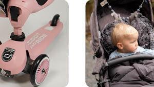 Fußsäcke für Babyschalen